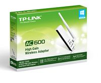 TP-LINK - Archer T2UH High Gain Wireless Dual Band USB Adapter