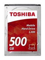 TOSHIBA - HD 2.5P 500GB INTERNO L200 - HDWJ105EZSTA