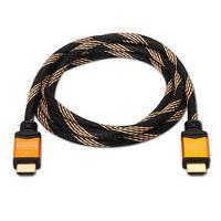 NANOCABLE - CABO HDMI V1.4 (ALTA VELOCIDADE / HEC): A/M-A/M: OURO: 1.0 M