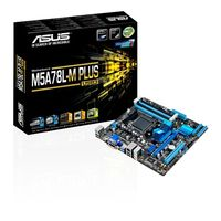 ASUS - M5A78L-M PLUS/USB3 CHIP 760G SKT AM3+ DDR3/ /USB3 MATX