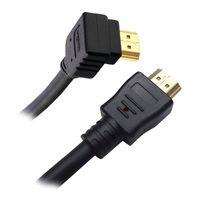 NANOCABLE - CABO HDMI ANGULAR V1.4 (ALTA VELOCIDADE / HEC): A/M-A/M: 1.8 M
