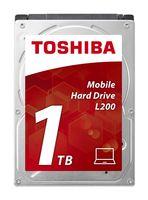 TOSHIBA - HD 2.5P 1TB INTERNO L200 - HDWJ110EZSTA