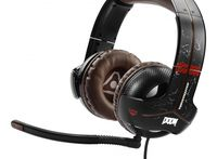 THRUSTMASTER - AURICULARES GAMING Y-300CPX DOOM EDITION PARA PS4/ PS3/ XBOX ONE/ XBOX 360/ PC (40600