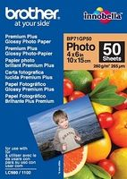BROTHER - Papel PGlossyP 10x15. 50 folhas. p/ 130/145/330/350/240/440/465/540/560/660/750/770/3360/5460/845/885