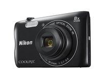 NIKON - Coolpix A300 BLACK - 20,1Mp-Zoom8x VR-SnapBridge-Video HD