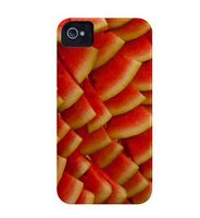 CASE-MATE - BarelyThere iPhone 4 NG Fruit (FR1-melancia)