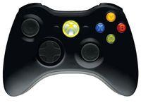 MICROSOFT - Wireless Controller para Xbox 360 - Preto - NSF-00002