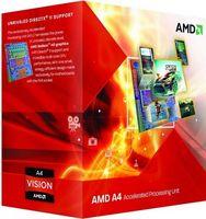 AMD A series A4-6300 3.7GHz 1MB L2 Caixa processador