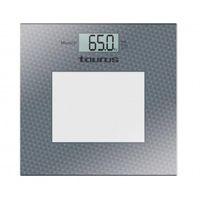 Taurus 990.344 Balança pessoal eletrónica Quadrado balança de casa de banho
