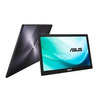 ASUS - MB169B+ - Monitor LED Mobile - 15.6P - 1920 x 1080 FullHD - 200 cd / m2 - 700:1 - 14ms - USB 3.0