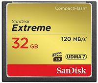 SANDISK - Extreme CF 120MB / s 85MB / s UDMA7 32GB