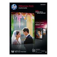HP - Premium Plus Glossy Photo Paper-50 sht/A4/210 x 297 mm