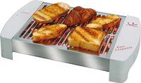 JATA TT589 480W Inox, Branco barbecue e grelhador