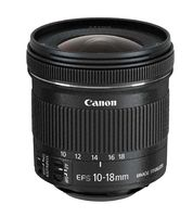 CANON - EF-S 10-18mmf / 4.5-5.6 ISSTM