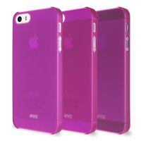 ARTWIZZ - RUBBER CLIP IPHONE 5 / 5S (PURPLE)