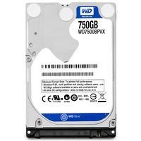 WESTERN DIGITAL - HD Scorpio BLU 750GB 2.5 SATA 3Gbs 8MB