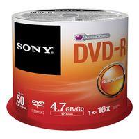 SONY - DVD-R 4.7GB Conjunto de 50 unid.