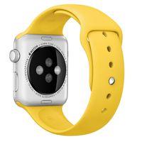 Apple MM992ZM/A Banda Amarelo Fluoroelastómero acessório de relógio inteligente