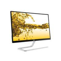 AOC - Style 27P - 1920 x 1080 Full HD - AH-IPS - 250 cd / m2 - 1000:1 - 4 ms - 2xHDMI: VGA - preto