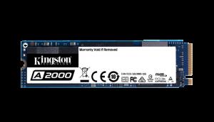 KINGSTON - SSDNow 500GB A2000 M.2 2280 NVMe