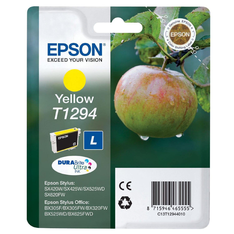 EPSON - Tinteiro Amarelo Stylus SX420W / 425W / 525WD / 620FW / Office BX305 / 320FW / 525WD / 625FWD