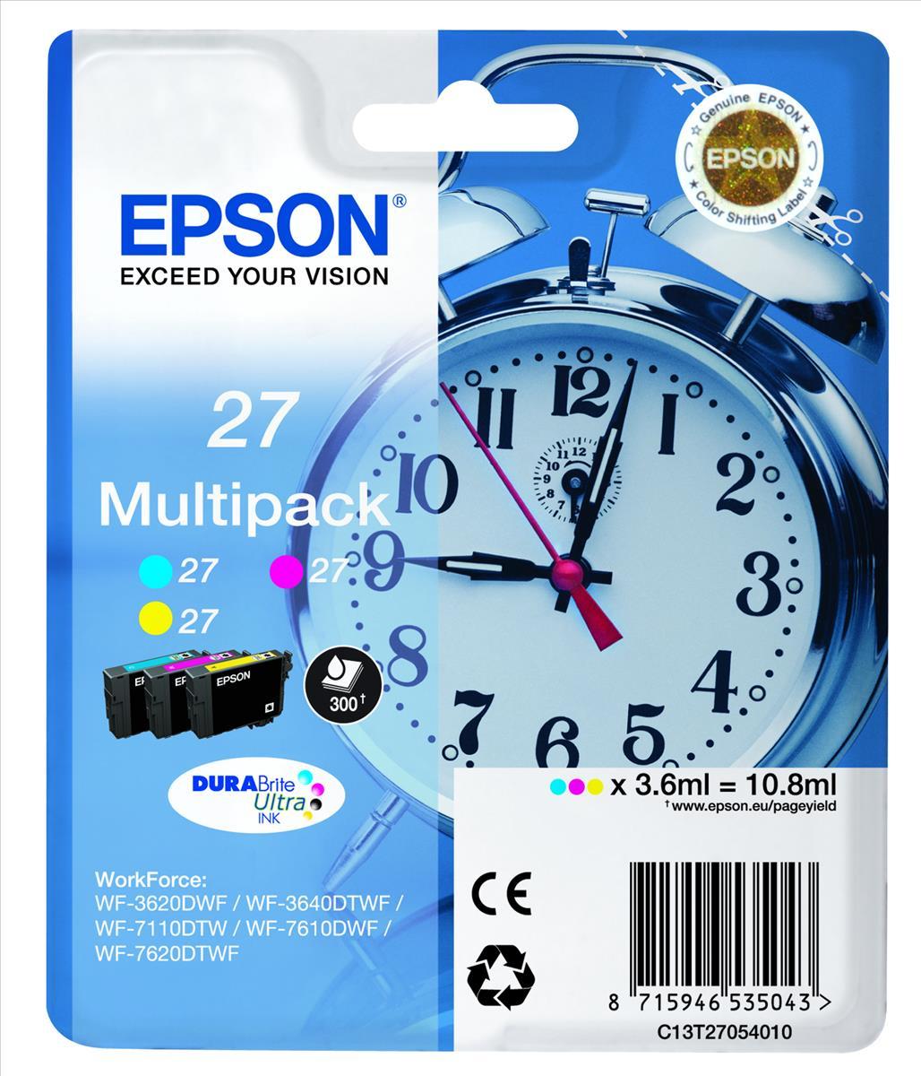 EPSON - MP 3-colour 27XL DURABrite Ultra Ink