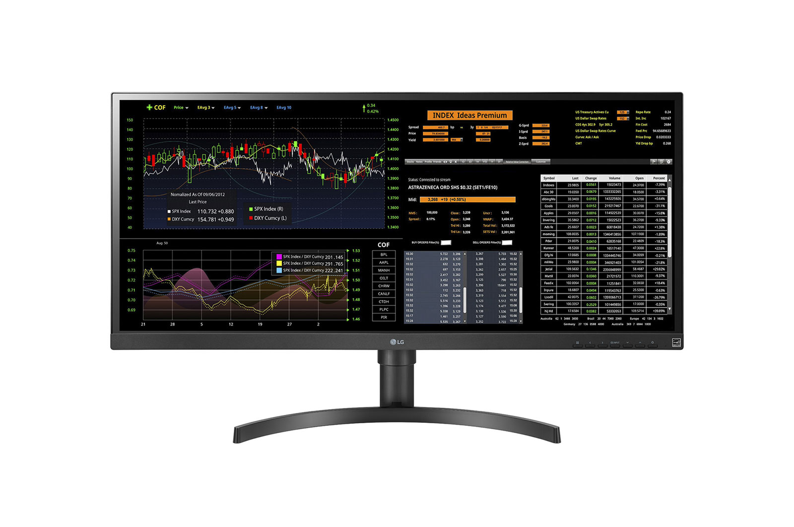 LG - All-In-One 34CN650N-3A ThinClient Display 34 IPS