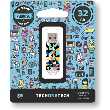 Tech One Tech - Pen Drive 32GB TEC4014-32