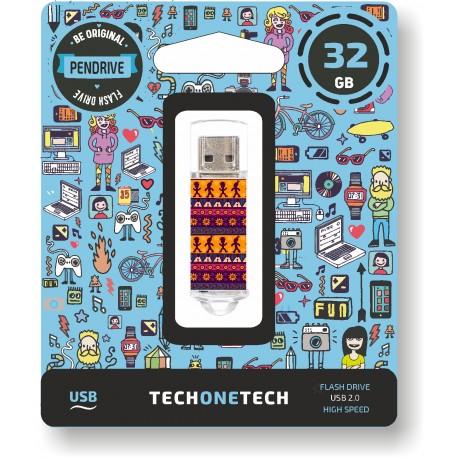 Tech One Tech - Pen Drive 32GB TEC4013-32