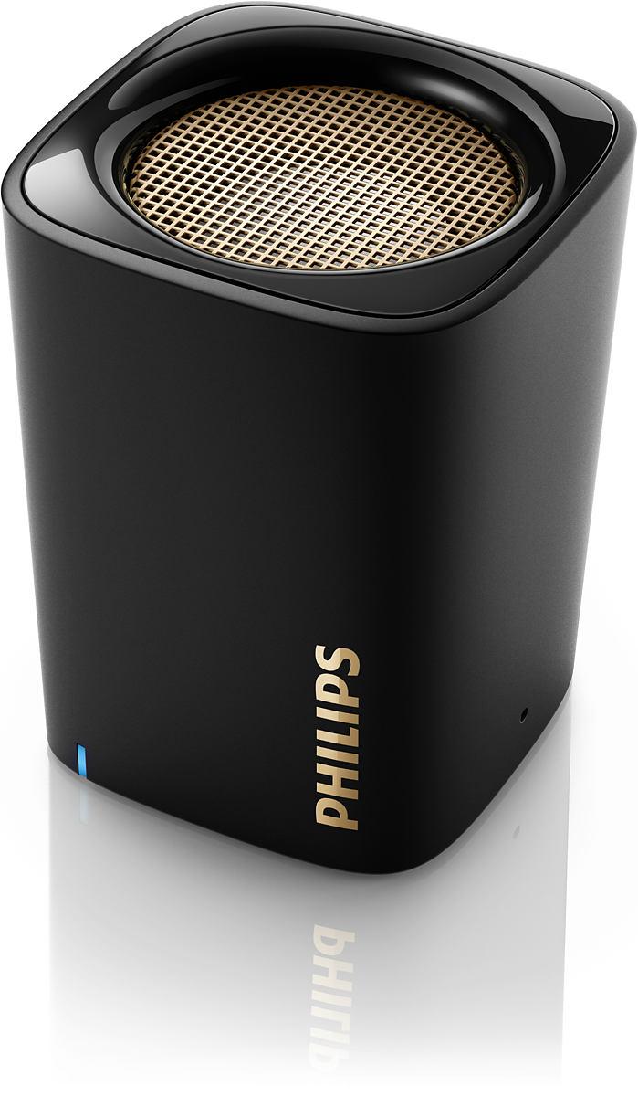 PHILIPS - BT100B/00 COLUNA PORTATIL BLUETOOTH PRETO