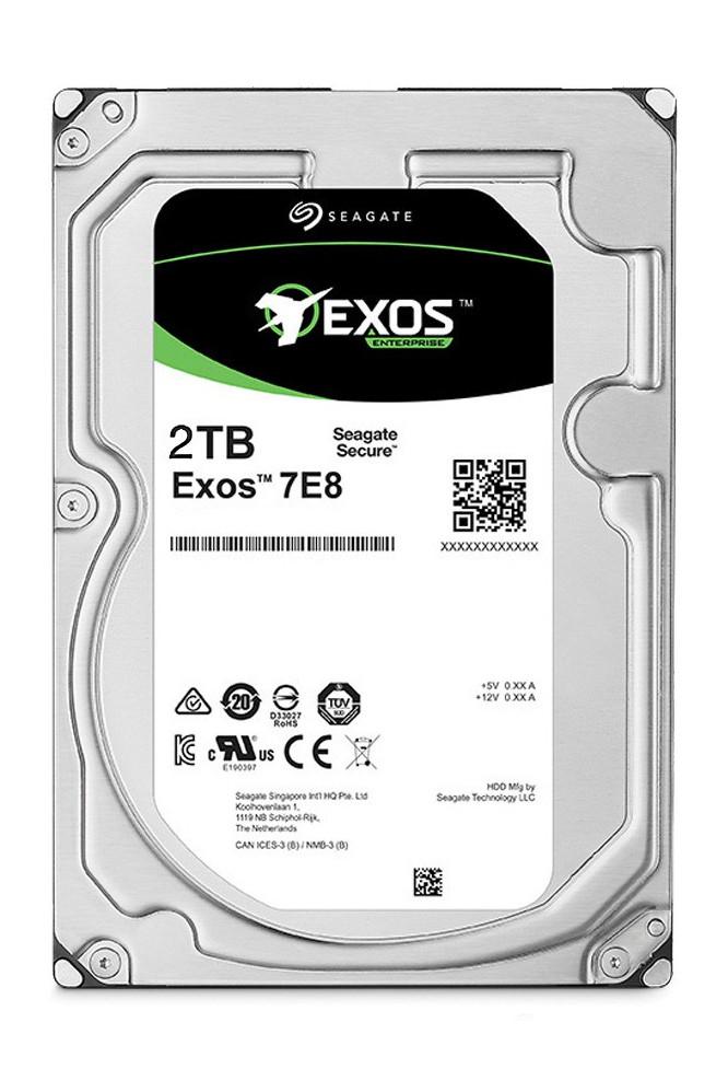 SEAGATE - HDD 2TB Exos 7E8 7200 RPM 256MB - ST2000NM000A