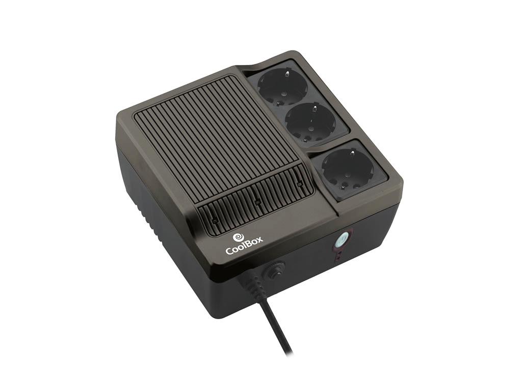 CoolBox - SAI Scudo 600 Preto (600VA)