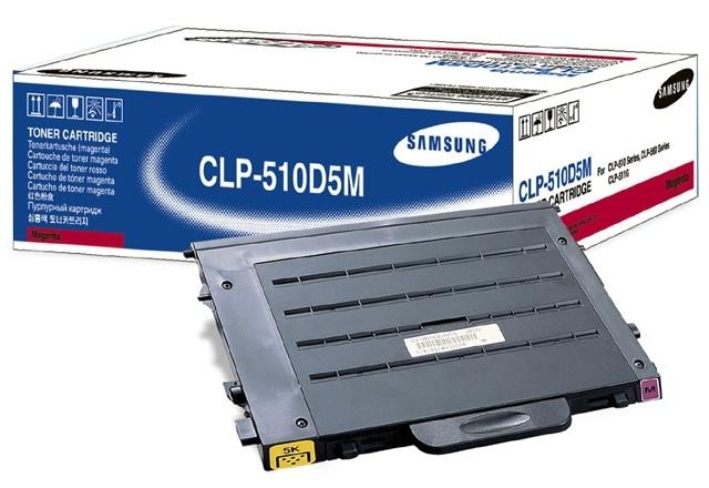 SAMSUNG - Toner / Magenta 5000sh f CLP-510