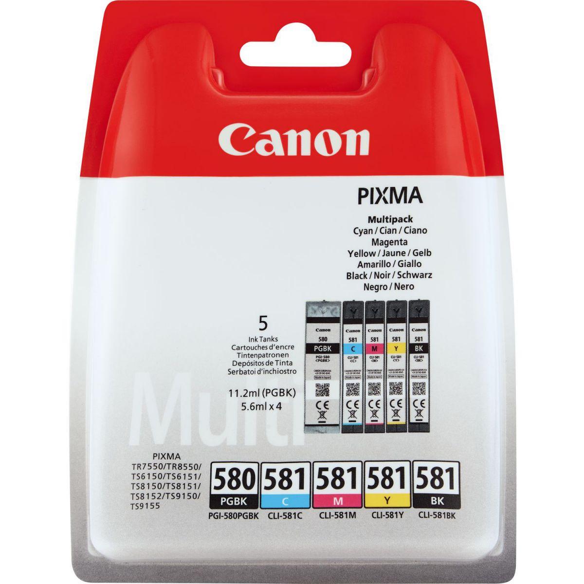 CANON - Ink/PGI-580/CLI-581 Cart CMYK BLIST+SEC