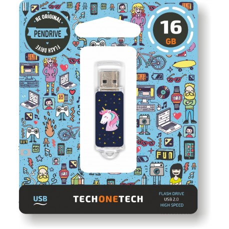 Tech One Tech - Pen Drive 16GB TEC4012-16