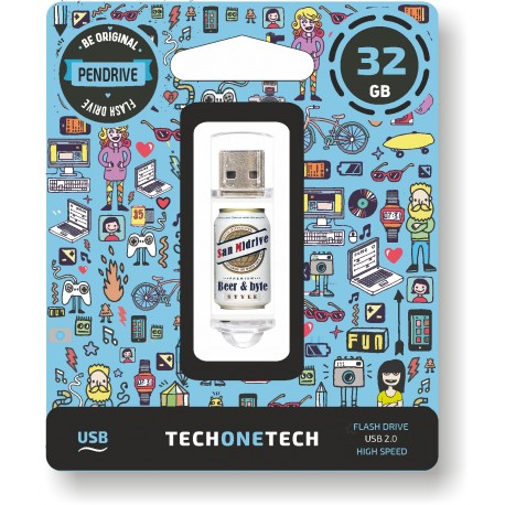 Tech One Tech - Pen Drive 32GB TEC4011-32