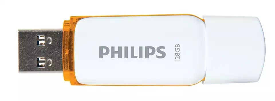 PHILIPS - Pen USB 2.0 128GB Snow Edition Roxo