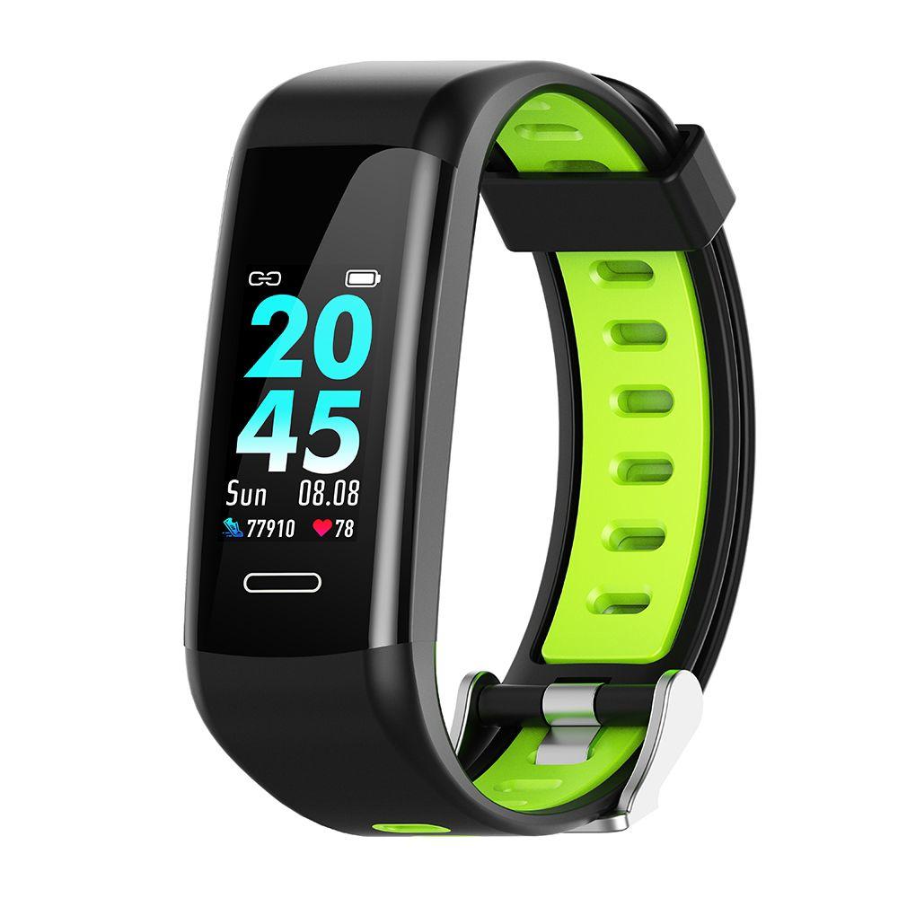 Leotec - Pulsera Fitness Pro GPS Verde/Negra
