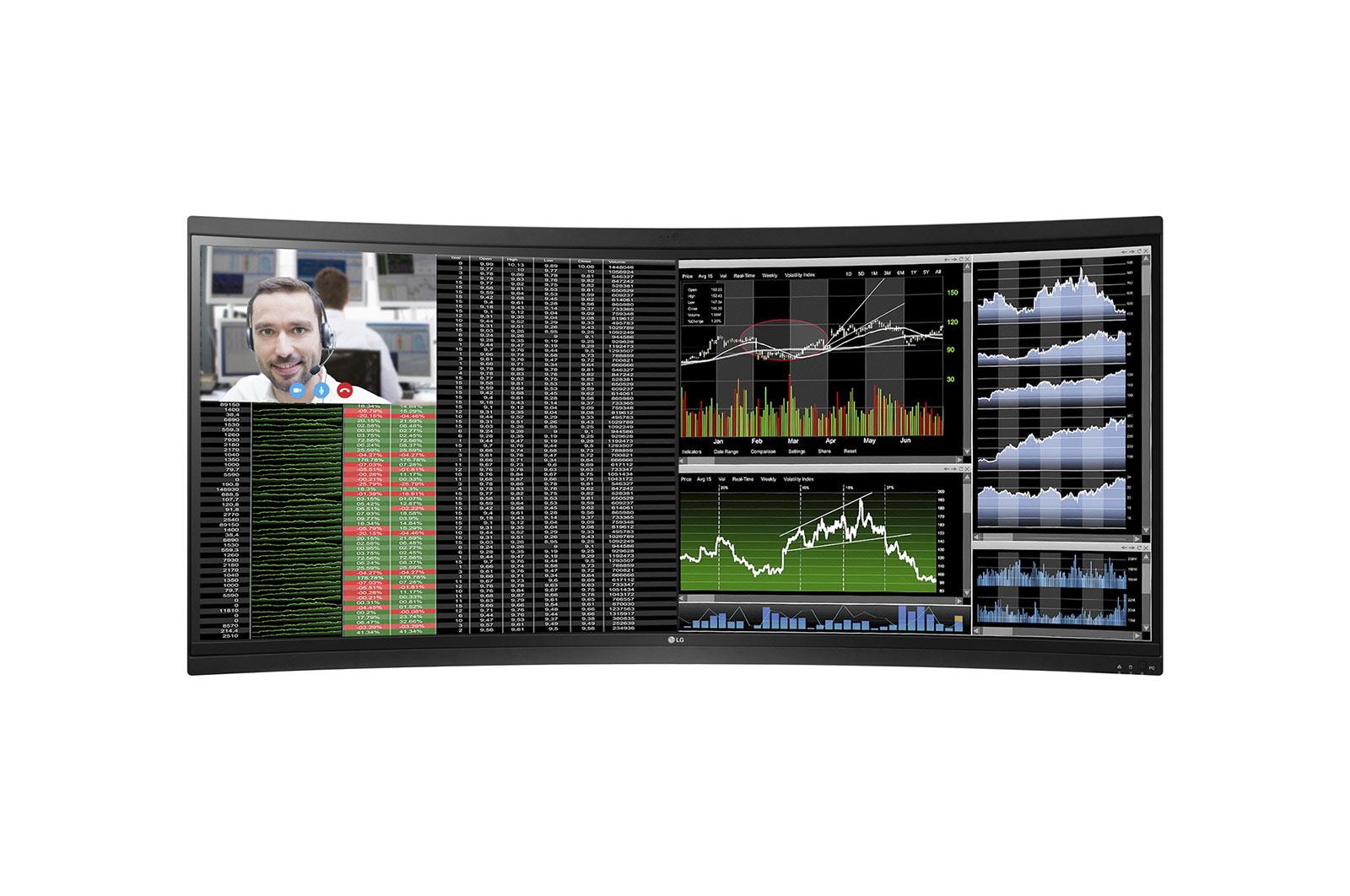 LG - Monitor 38P 38CK900N-1C IPS ThinClient Display