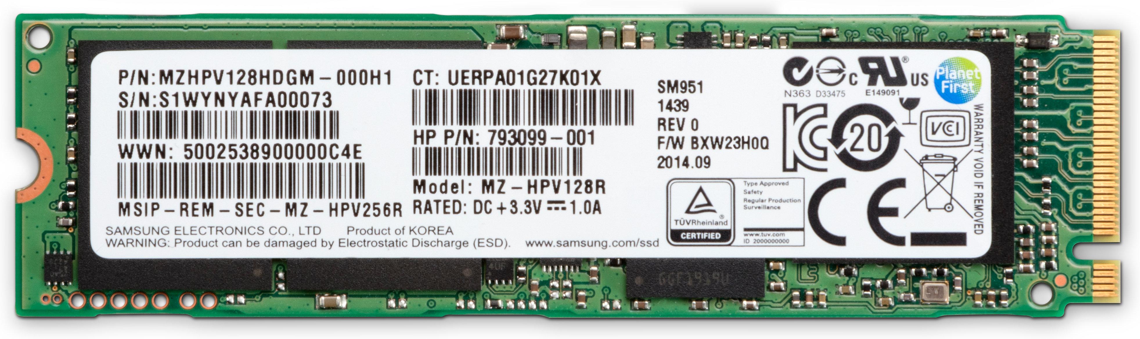 HP - HP - Z Turbo Drive 256GB TLC Z4/6 G4 SSD Kit