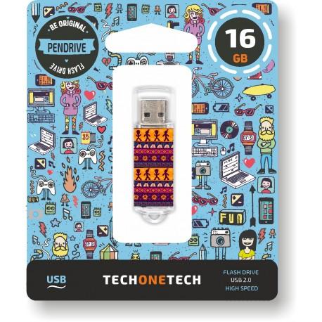 Tech One Tech - Pen Drive 16GB TEC4013-16