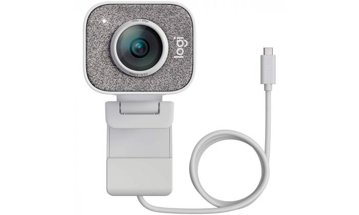 Webcam Logitech StreamCam Full HD 1080p USB 3.1 Type-C - Branco