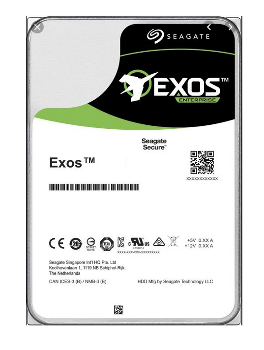 SEAGATE - 14TB Exos X16 ST14000NM002G 7200 Rpm 256MB