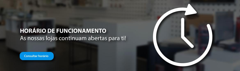 Homepage Slideshow - Horário de Funcionamento